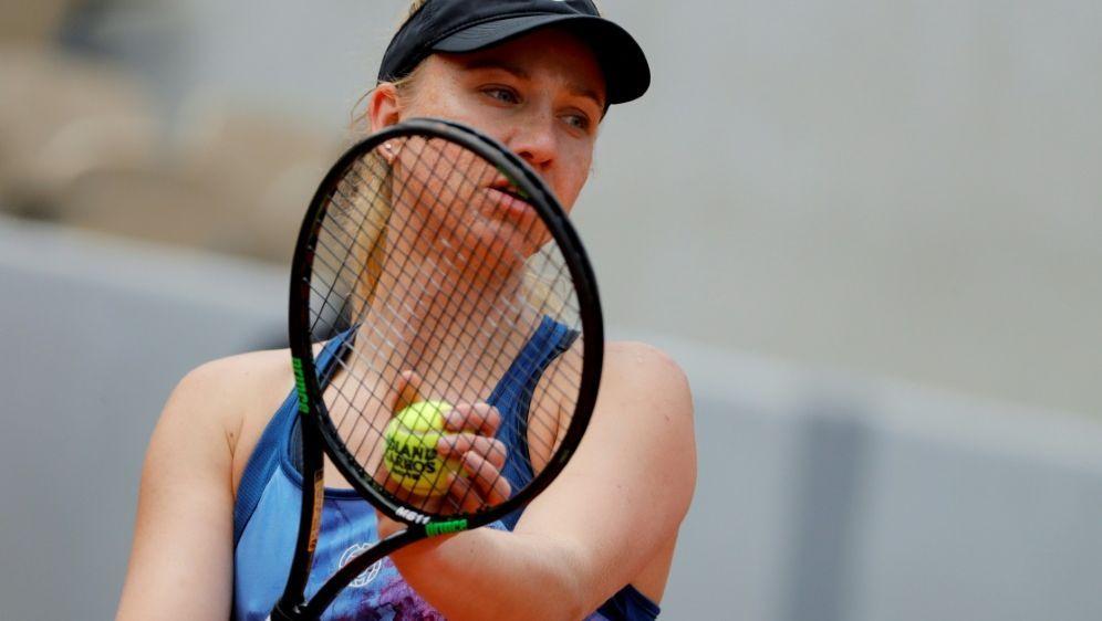 Mona Barthel verlor gegen Caroline Garcia in zwei Sätzen - Bildquelle: AFPSIDTHOMAS SAMSON