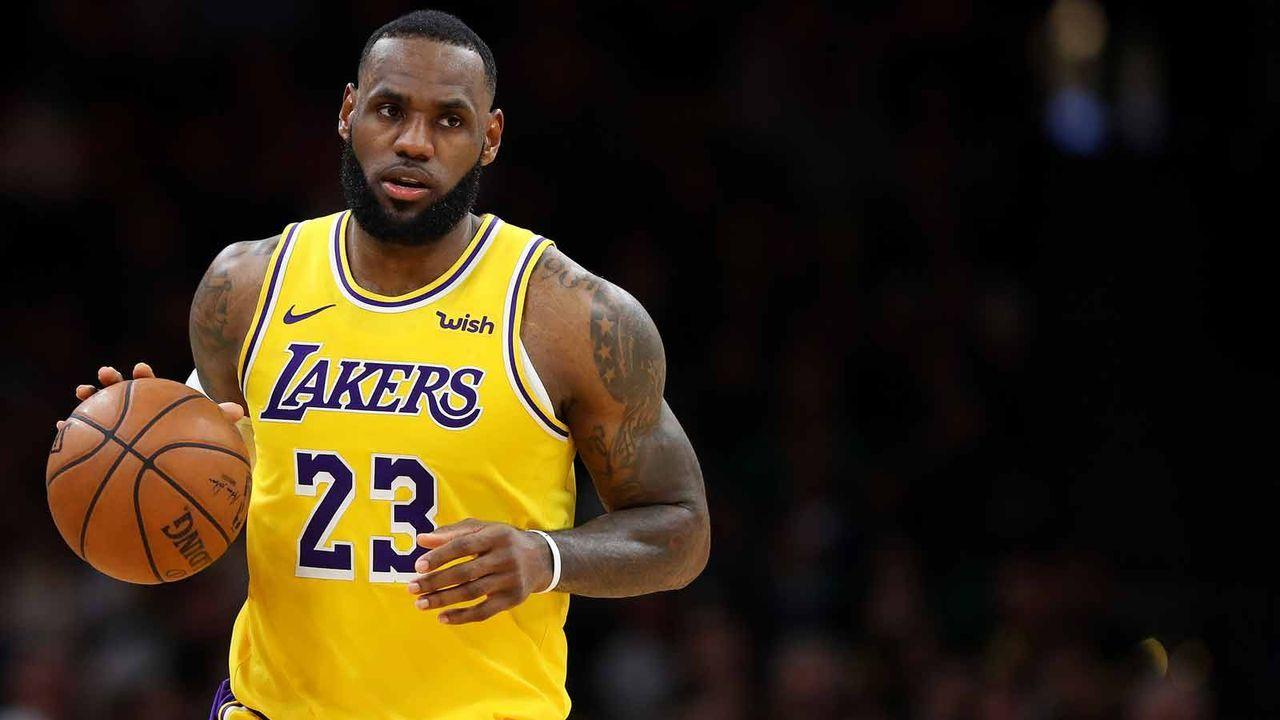 Platz 1: LeBron James - Bildquelle: getty