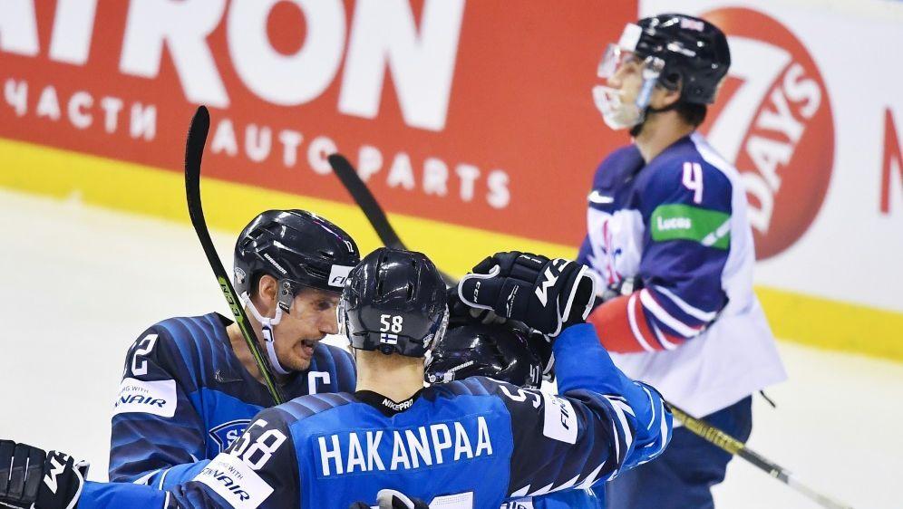 5:0 - Finnen fertigen Großritannien ab - Bildquelle: AFPSID-JOE KLAMAR