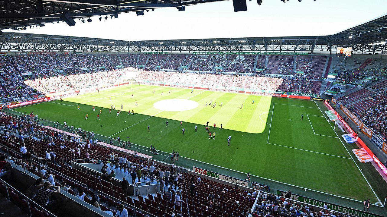 Platz 14: FC Augsburg - WWK ARENA - Bildquelle: Getty