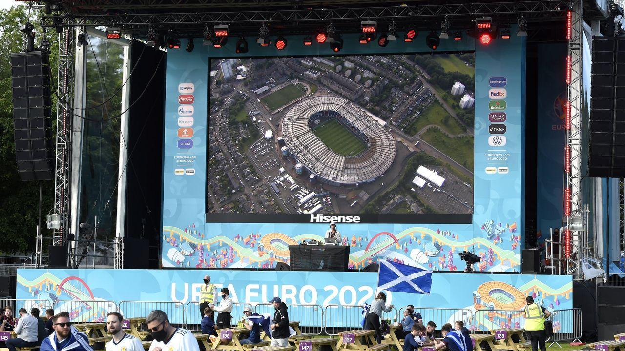 Fanzone in Glasgow - Bildquelle: Imago