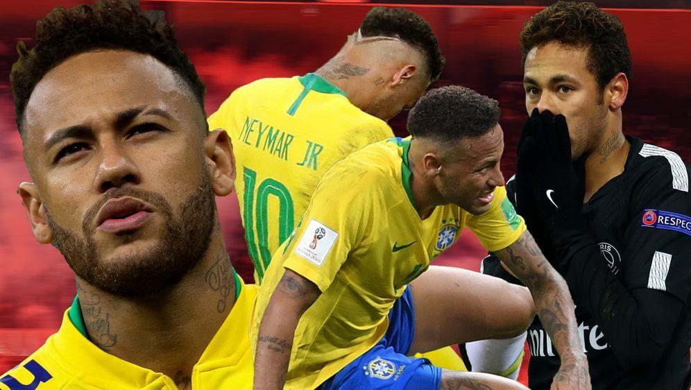 Neymar kämpfte in den letzten Monaten vorwiegend mit Verletzungen, Imageprob...