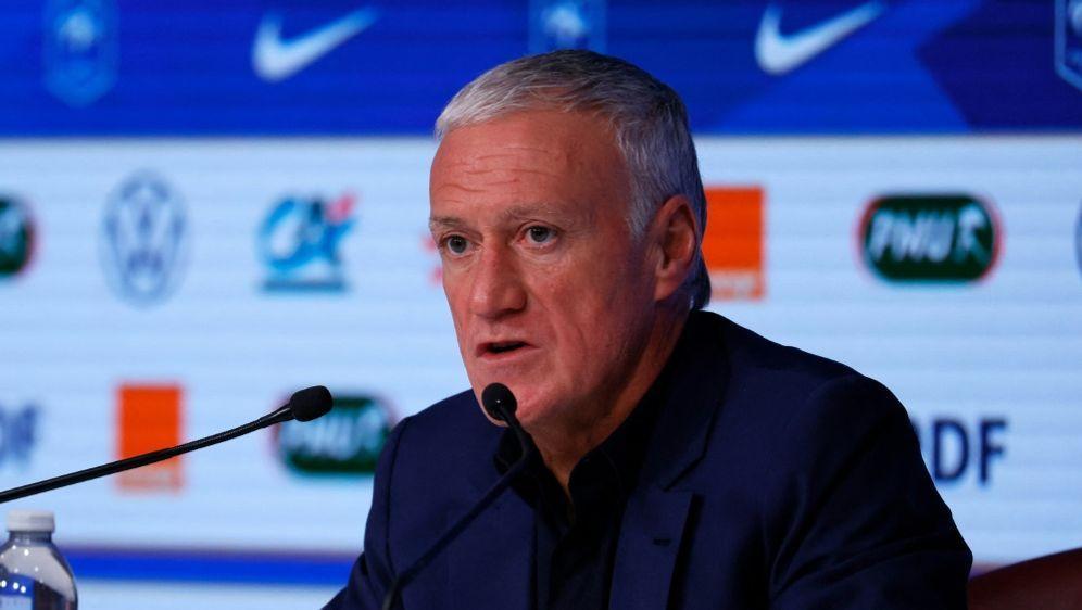 Deschamps lobt die individuelle Qualität des DFB-Teams - Bildquelle: AFPSIDTHOMAS SAMSON