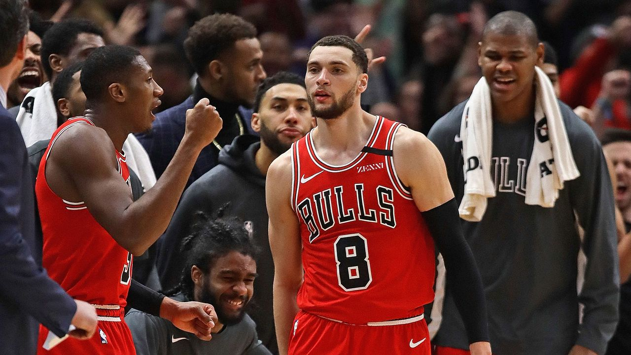 Platz 17 (geteilt) - Chicago Bulls (Basketball) - Bildquelle: Getty Images