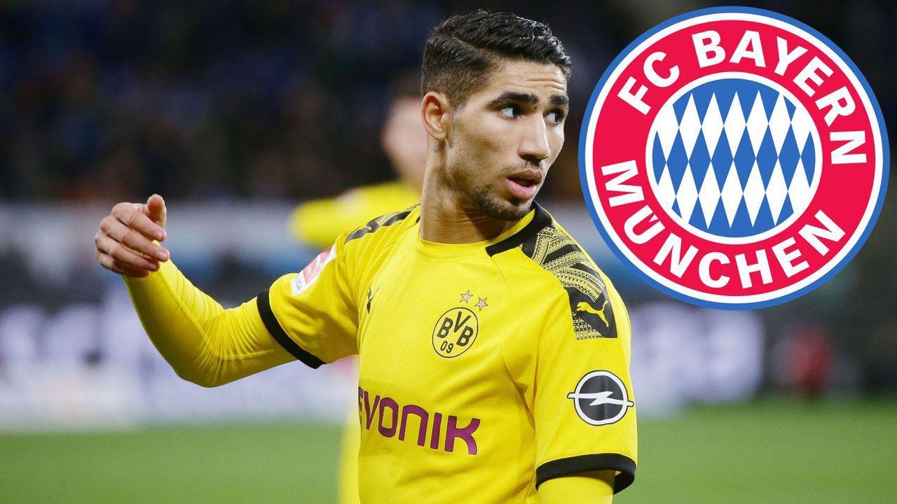 Achraf Hakimi (Borussia Dortmund/Real Madrid)  - Bildquelle: imago