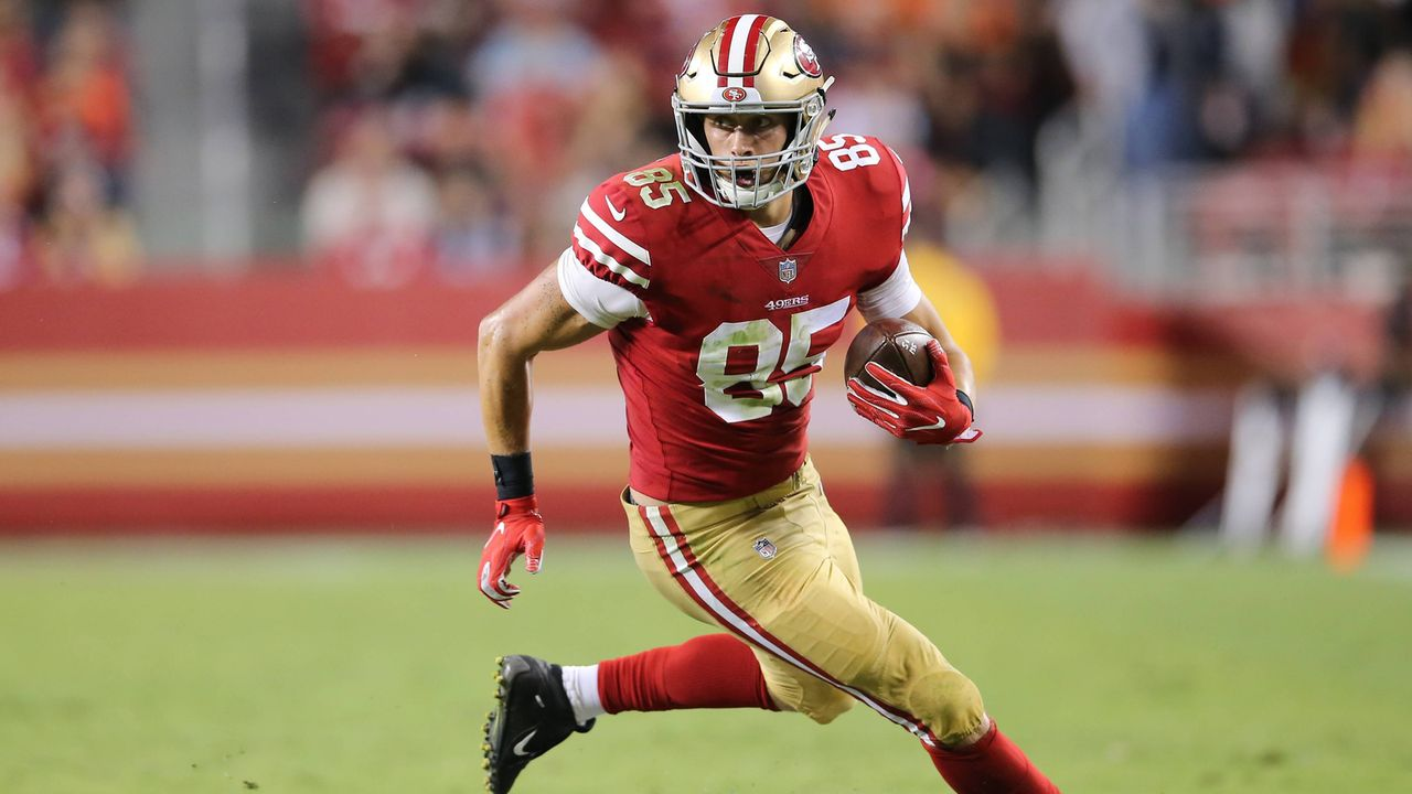 George Kittle: Der Weg vom Rookie zum Star - Bildquelle: Getty