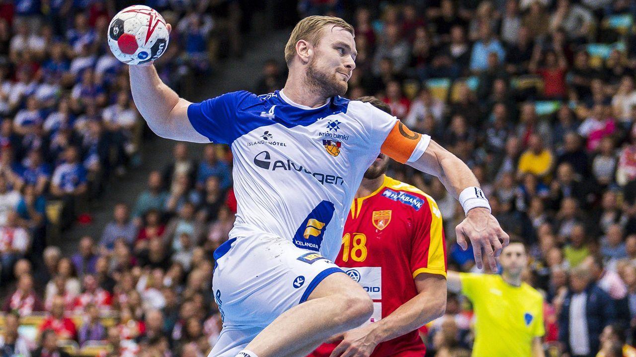 Der Top-Star von Island: Aron Palmarsson - Bildquelle: imago/wolf-sportfoto