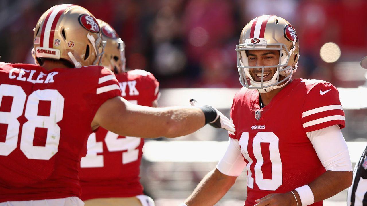 San Francisco 49ers: 6 Picks - Bildquelle: 2018 Getty Images