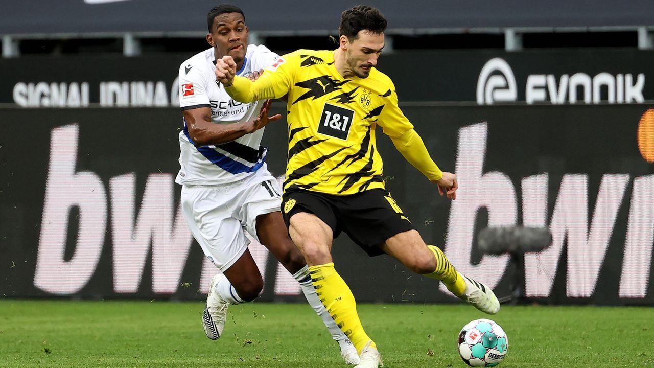 Mats Hummels (Borussia Dortmund) - Bildquelle: Imago Images