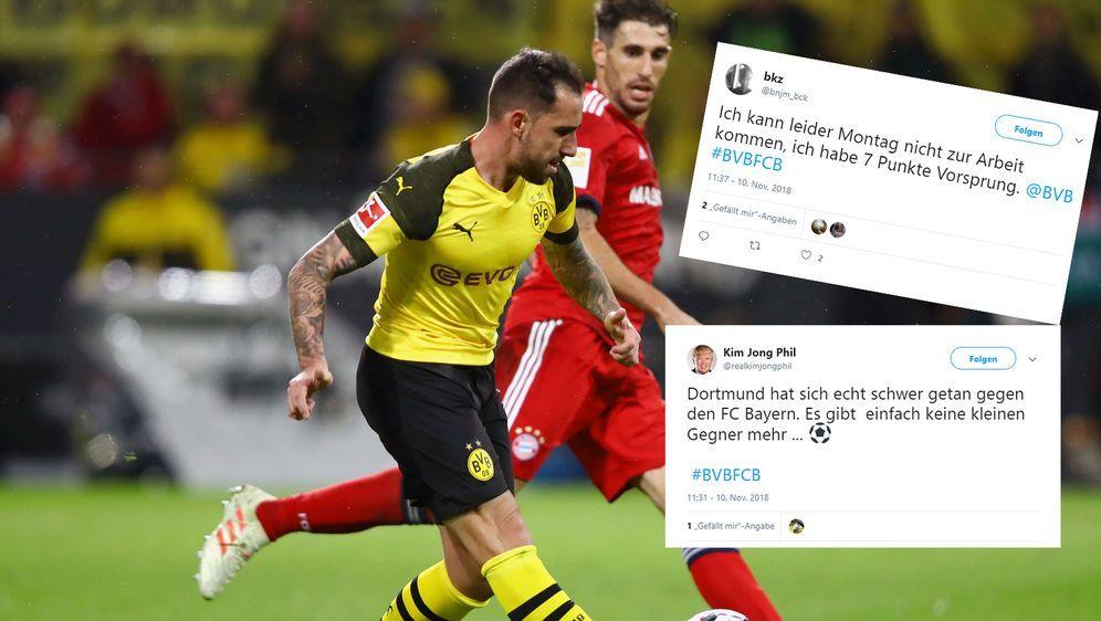 Borussia Dortmund Vs Fc Bayern Munchen So Reagiert Das