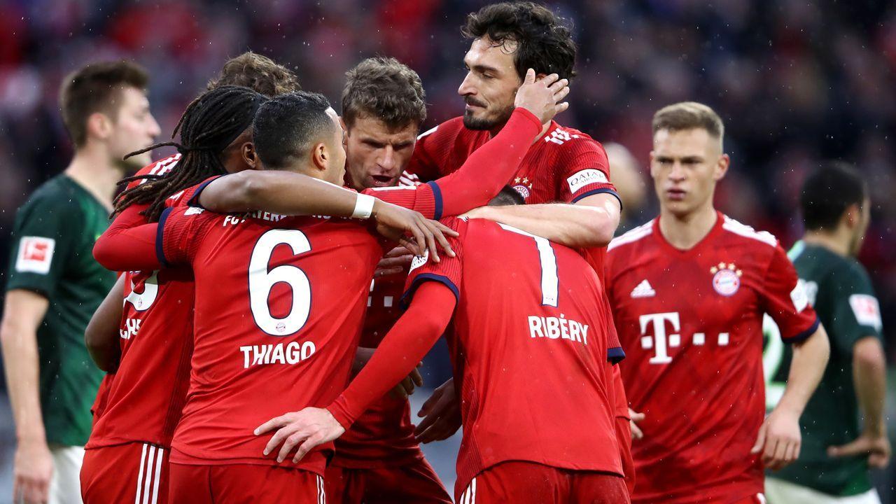 Einzelkritik FC Bayern vs. Wolfsburg - Bildquelle: Getty Images