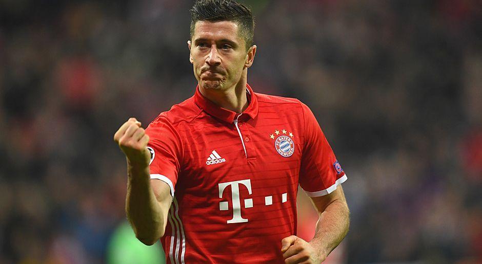 Robert Lewandowski (Polen, FC Bayern München) - Bildquelle: 2016 Getty Images