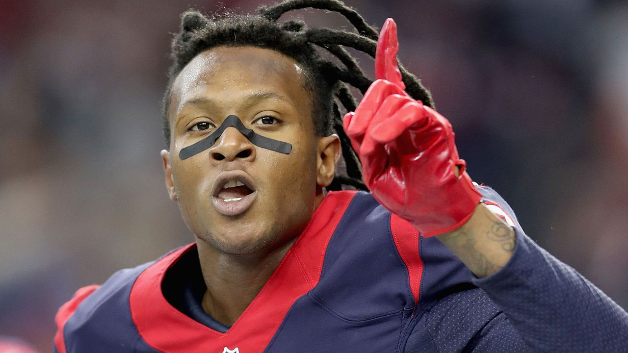Platz 4 (geteilt): DeAndre Hopkins (Houston Texans) - Bildquelle: 2017 Getty Images