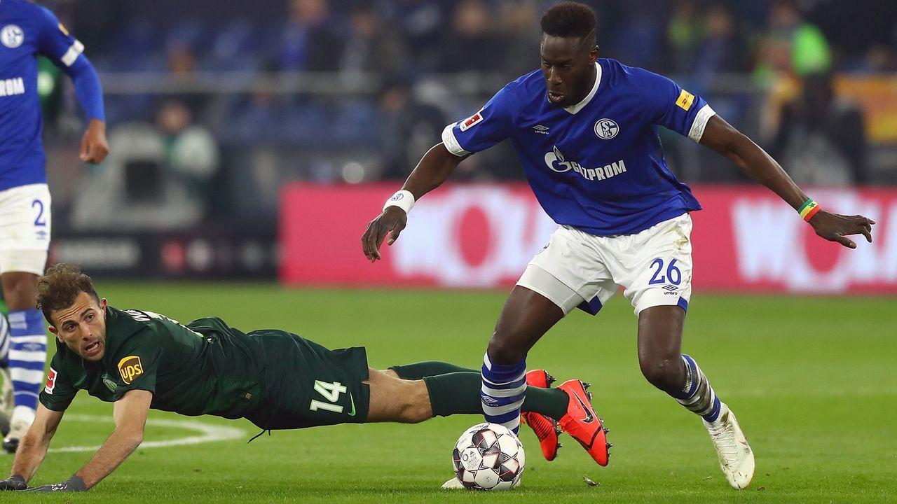 Platz 2 - Salif Sane (FC Schalke 04) - Bildquelle: 2019 Getty Images
