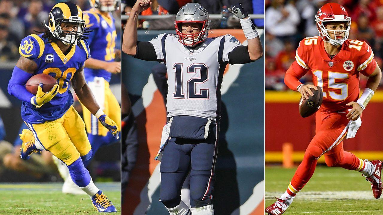 Die MVP-Kandidaten der NFL - Bildquelle: imago/UPI Photo