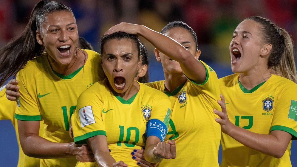Marta stellteeine neue Bestmarke für Weltmeisterschaften auf. - Bildquelle: imago images / ZUMA Press