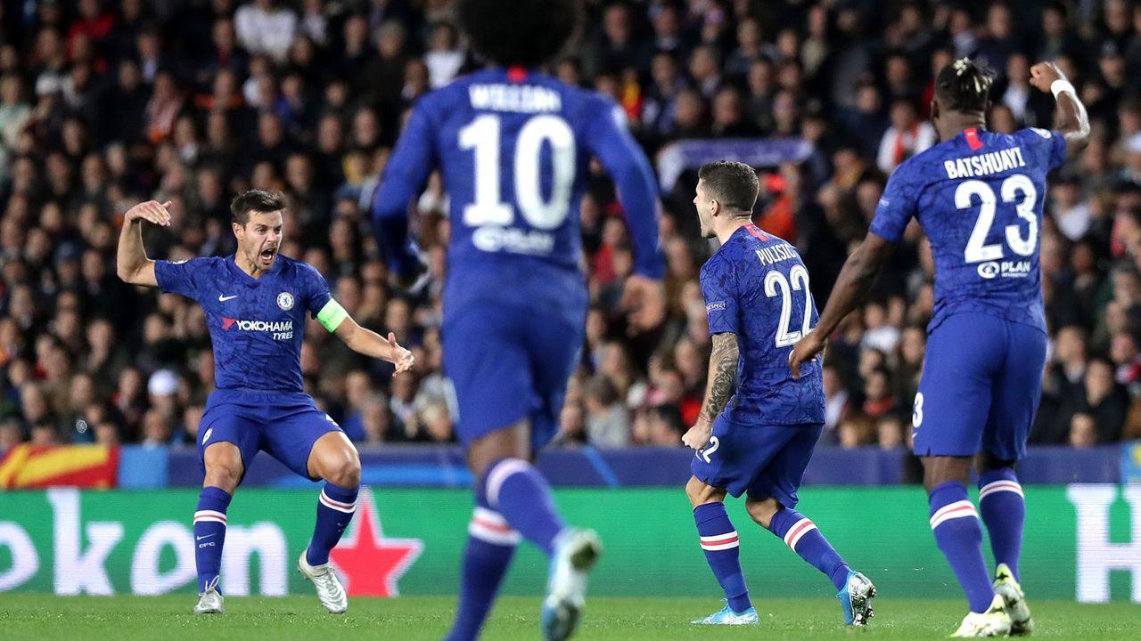 Platz 8: FC Chelsea  - Bildquelle: 2019 Getty Images