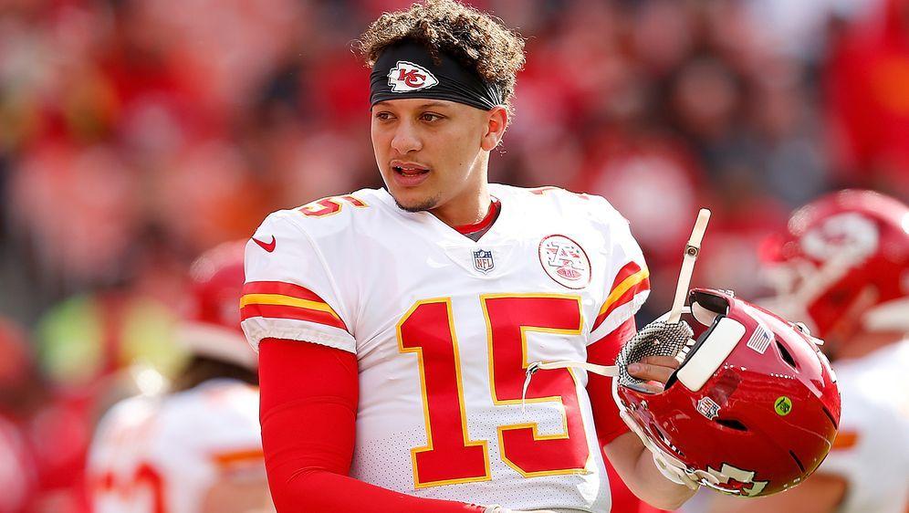 Führte die Chiefs in seiner ersten Saison in die Playoffs: Patrick Mahomes - Bildquelle: Getty Images