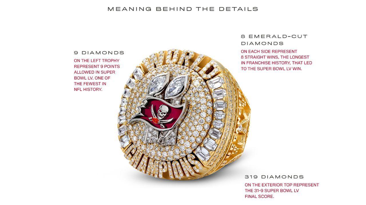 319 Diamanten für das Endergebnis 31:9 - Bildquelle: Tampa Bay Buccaneers