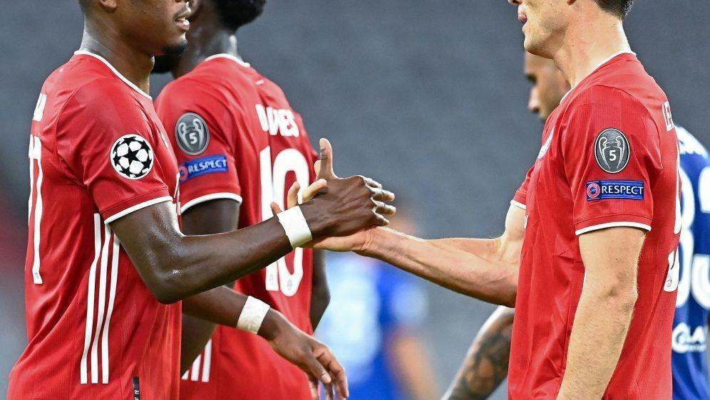 Die Bayern fiebern dem Viertelfinale entgegen - Bildquelle: AFPSIDTobias SCHWARZ