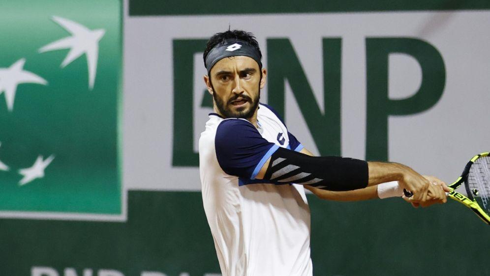 Lorenzo Giustino gewann das sechsstündige Match - Bildquelle: AFPSIDTHOMAS SAMSON