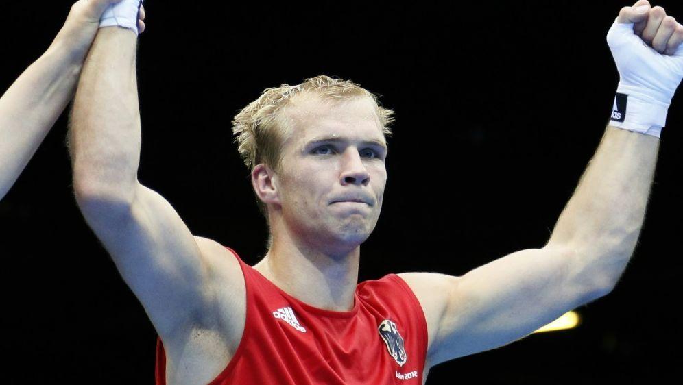 Härtel kämpft ein zweites Mal gegen Robin Krasniqi - Bildquelle: AFPSIDJACK GUEZ