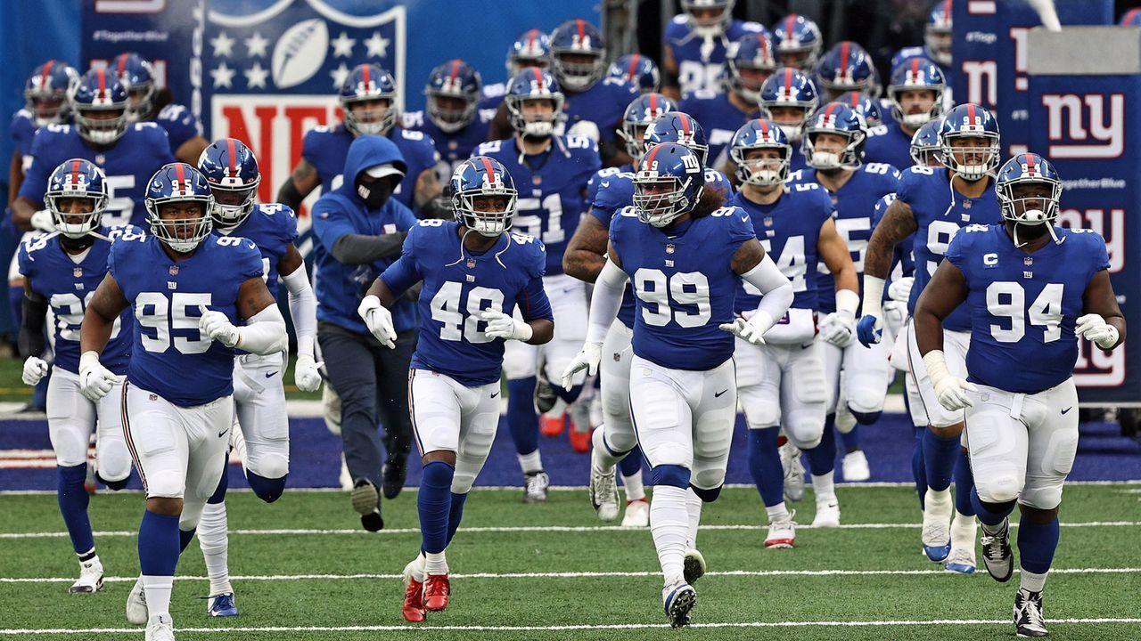 New York Giants (6-10 zum Zeitpunkt des Ausscheidens) - Bildquelle: Getty Images