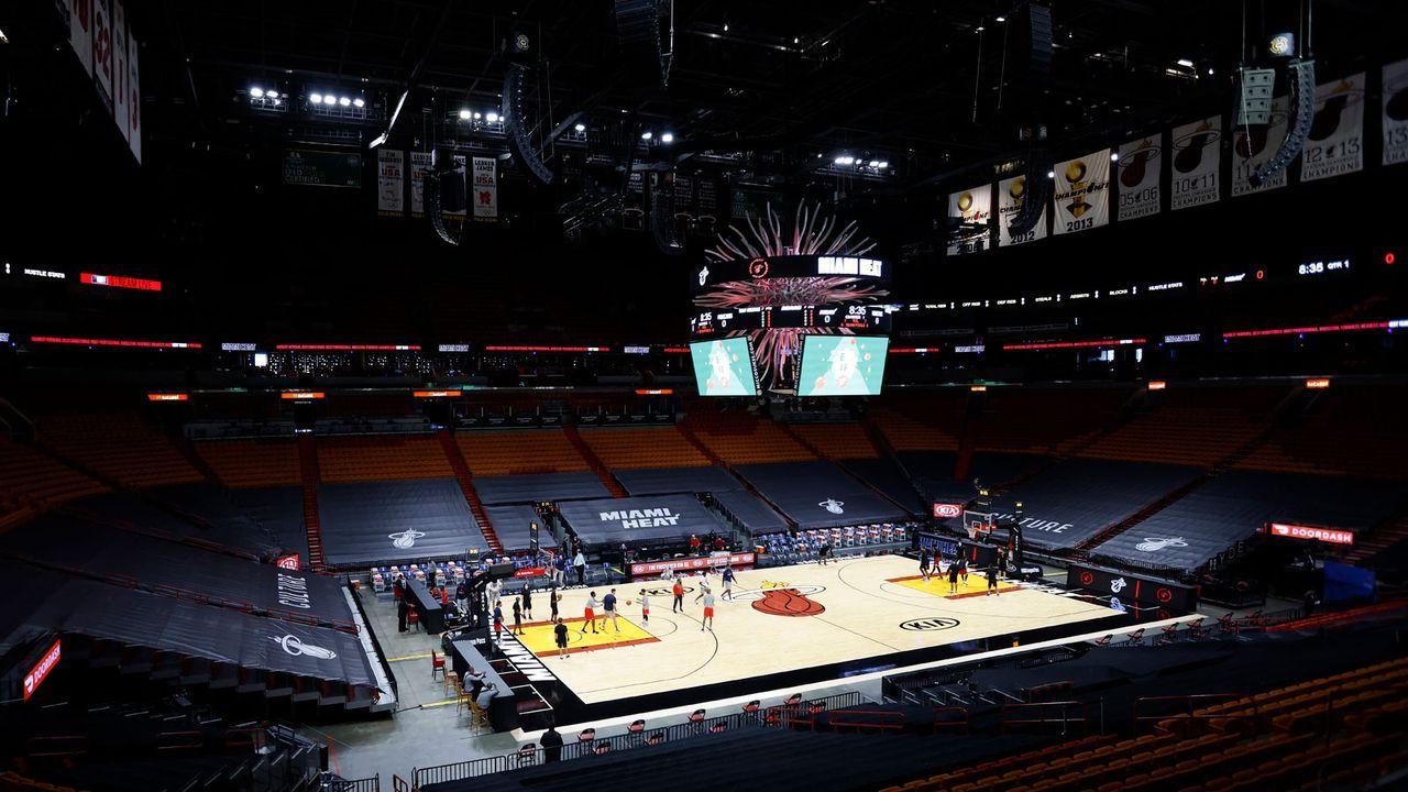 Miami Heat planen Einsatz von Corona-Spürhunden - Bildquelle: Getty