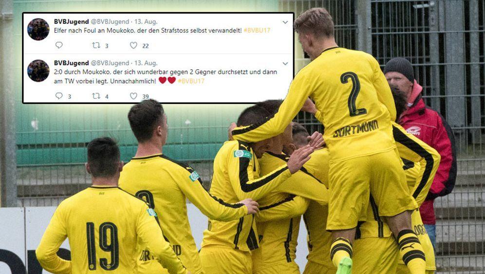 Die U17 des BVB gewinnt 3:0 zum Saisonauftakt. - Bildquelle: imago/Nordphoto