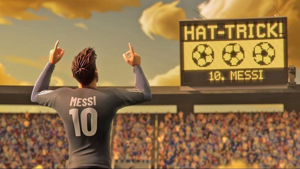 Lionel Messi wirbt in mehreren Spots zur WM. - Bildquelle: Gatorade / YouTube