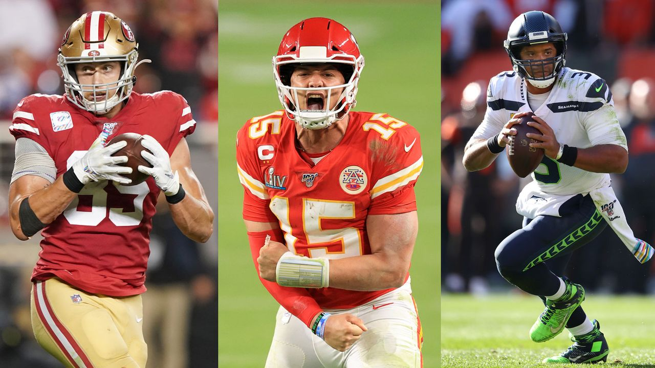 Wilson, Mahomes und Co.: Die Ratings der zehn besten Spieler pro Team bei Madden 21 - Bildquelle: Getty Images
