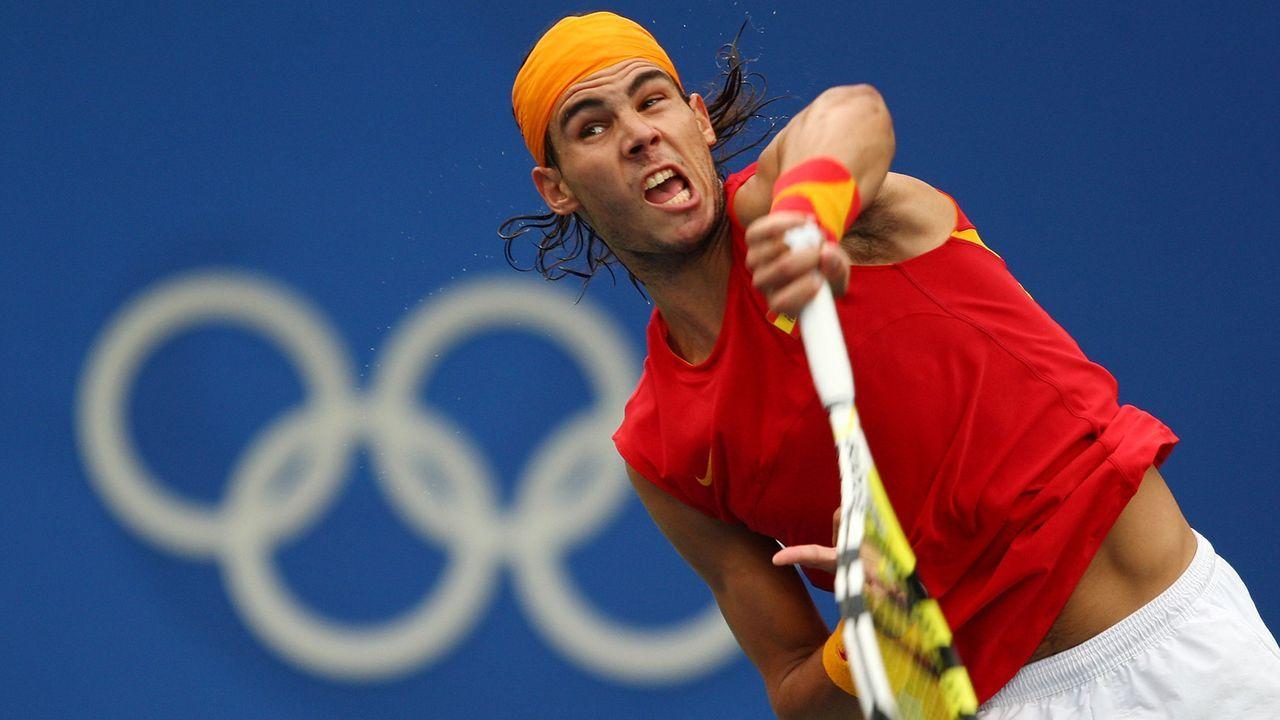 Olympia 2008: Rafael Nadal - Bildquelle: 2008 Getty Images