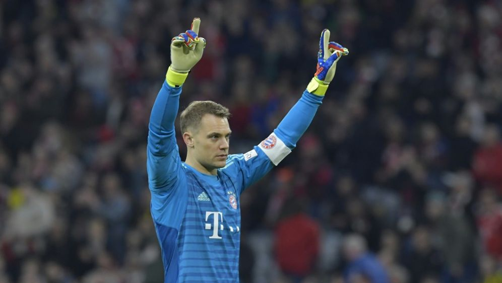 Plant seine Rückkehr im Pokalfinale: Manuel Neuer - Bildquelle: AFPSIDTOBIAS SCHWARZ