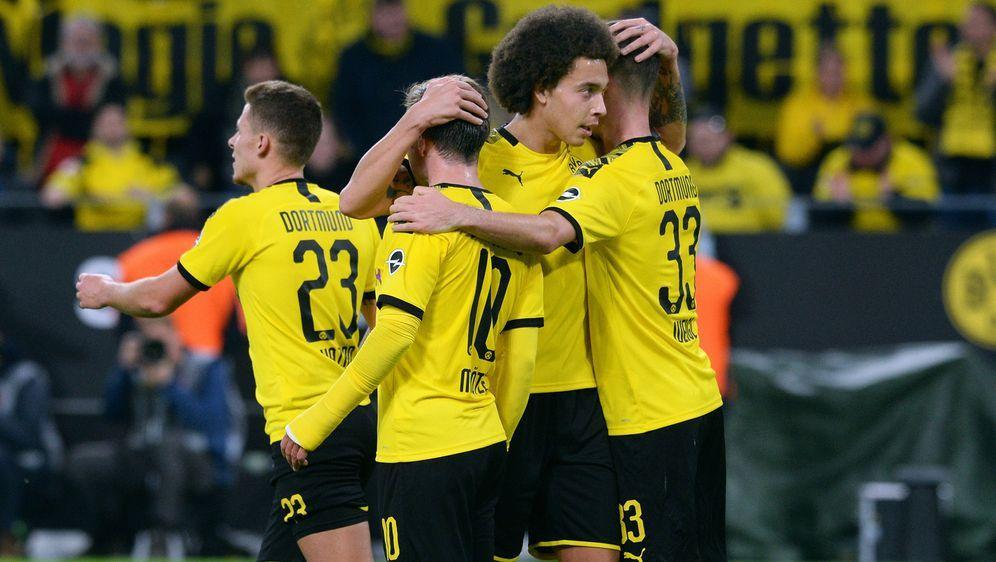 Borussia Dortmund stehen mit den Partien gegen Inter Mailand und Bayern Münc... - Bildquelle: imago images/Uwe Kraft