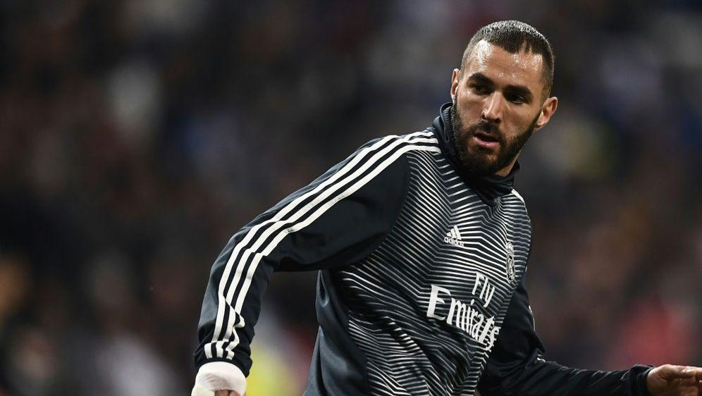 Real Madrid muss auf Torjäger Karim Benzema verzichten - Bildquelle: AFPSIDOSCAR DEL POZO