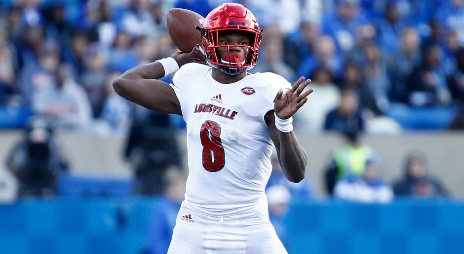 32. Pick - Baltimore Ravens: QB Lamar Jackson  - Bildquelle: getty