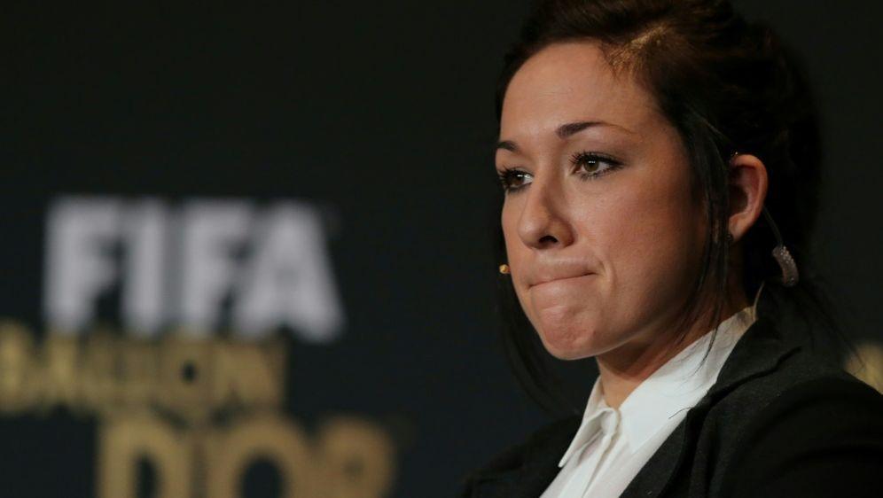 Nadine Keßler wurde 2014 zur Weltfußballerin gekürt - Bildquelle: FIROFIROSID