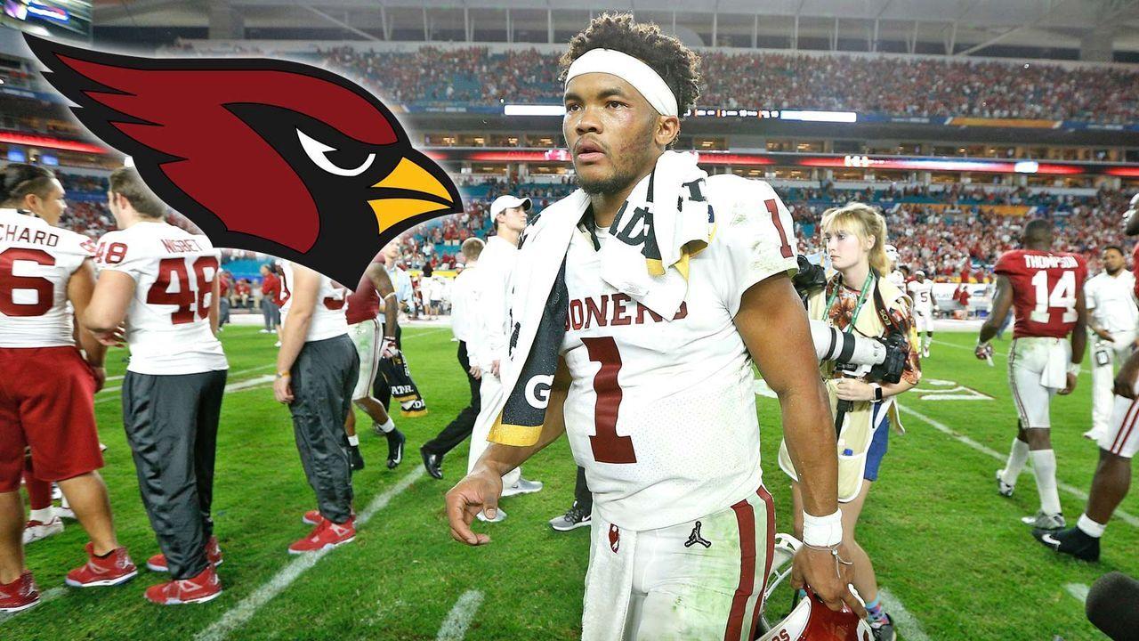 Pick 1: Kyler Murray - Arizona Cardinals - Bildquelle: Getty