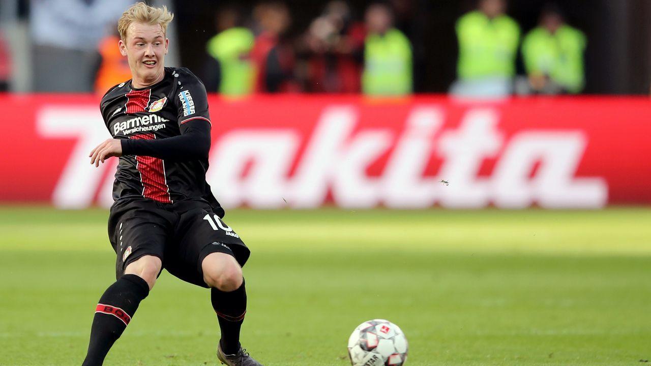 Platz 3 - Julian Brandt (Bayer Leverkusen) - Bildquelle: 2019 Getty Images
