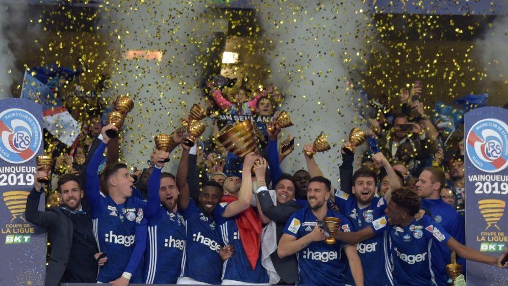 2019 gewann Racing Straßburg den Coupe de la Ligue - Bildquelle: AFPSIDPHILIPPE HUGUEN