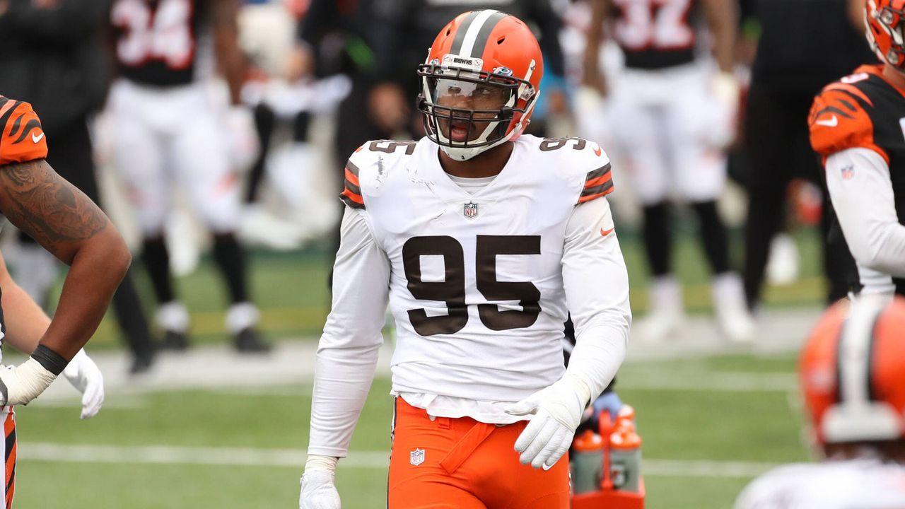 Myles Garrett (Cleveland Browns) - Bildquelle: imago images/Icon SMI