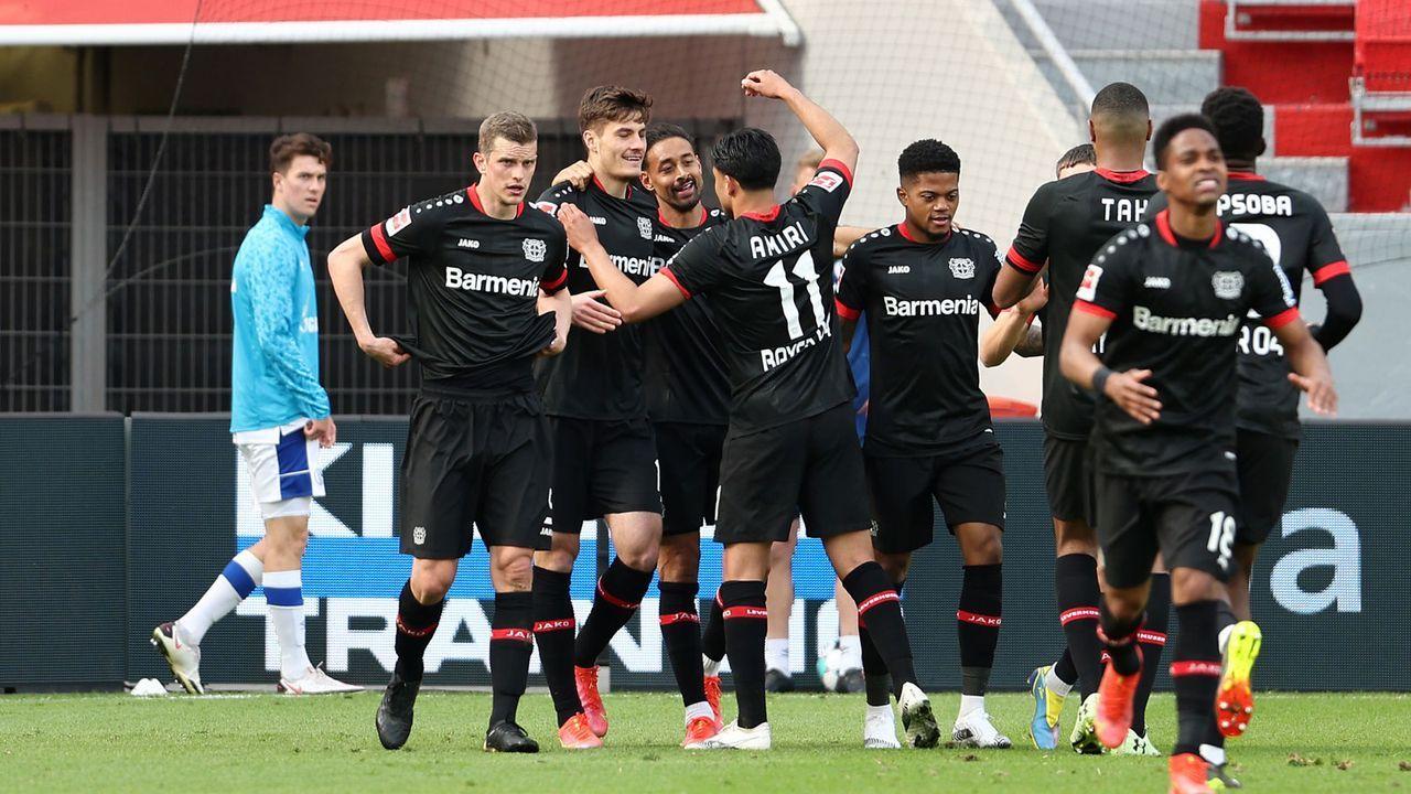 6 Platz: Bayer Leverkusen (43 Punkte) - Bildquelle: Getty Images