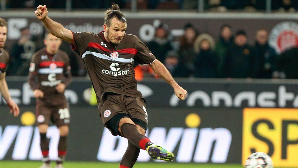 St. Paulis Meier erzielt per Elfmeter den Siegtreffer - Bildquelle: imago