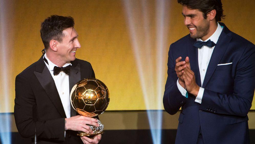 Lionel Messigewinnt den Ballon d'Or 2015. - Bildquelle: imago/GEPA pictures