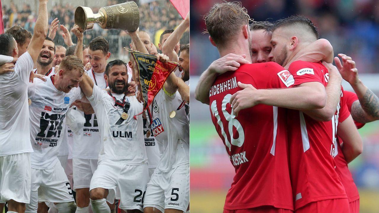 SSV Ulm - 1. FC Heidenheim - Bildquelle: Imago