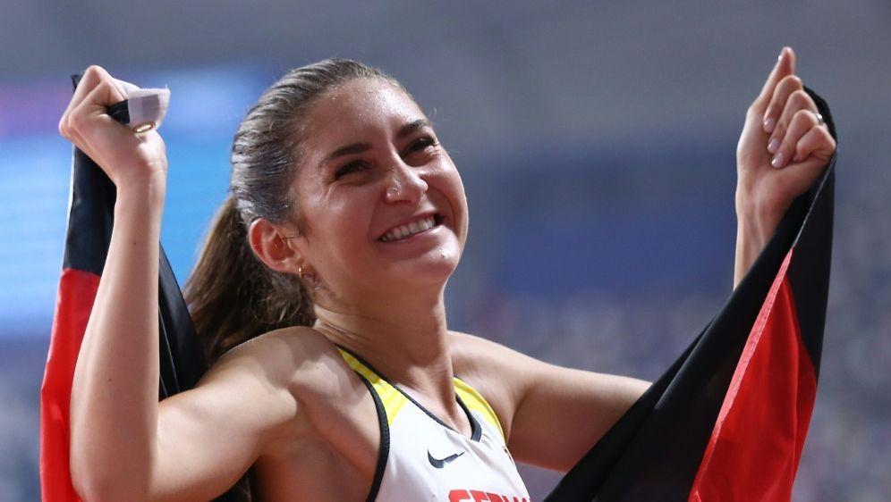 Gesa Krause durfte auch 2019 einen Bronze-Erfolg feiern - Bildquelle: AFPSID