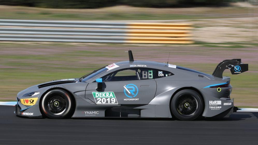 Aston Martin holte in Estoril drei von sechs fehlenden Testtagen nach. - Bildquelle: R-Motorsport
