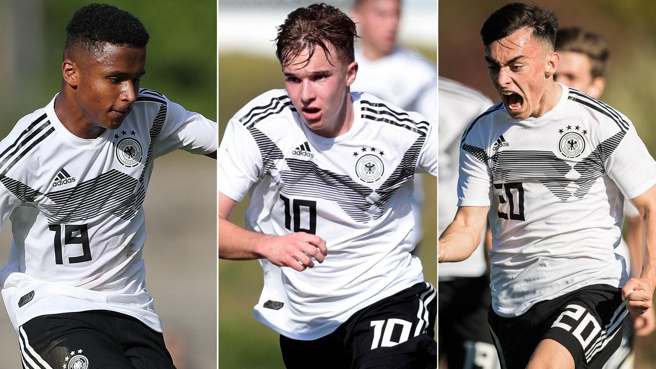 Kader der deutschen U17-Nationalmannschaft - Bildquelle: Getty Images