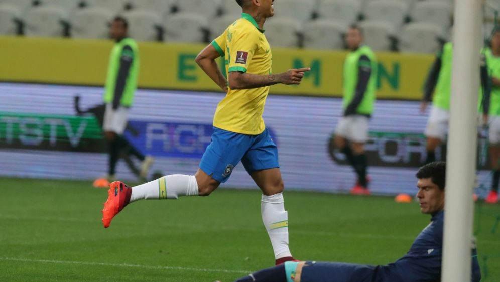 Zwei Tore gegen Bolivien: Roberto Firmino - Bildquelle: POOLPOOLSIDAMANDA PEROBELLI