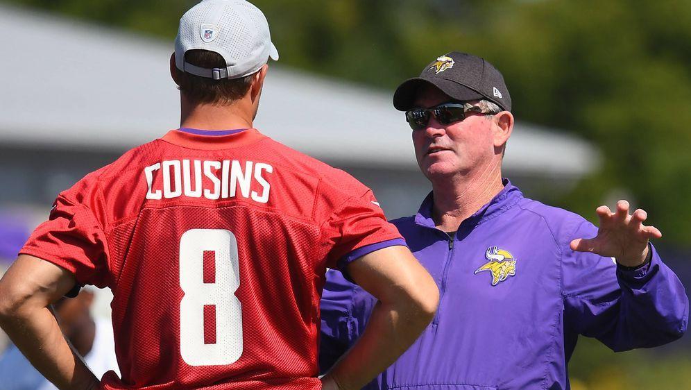 Kirk Cousins und Mike Zimmer: Wie geht es bei den Vikings weiter? - Bildquelle: imago/Icon SMI